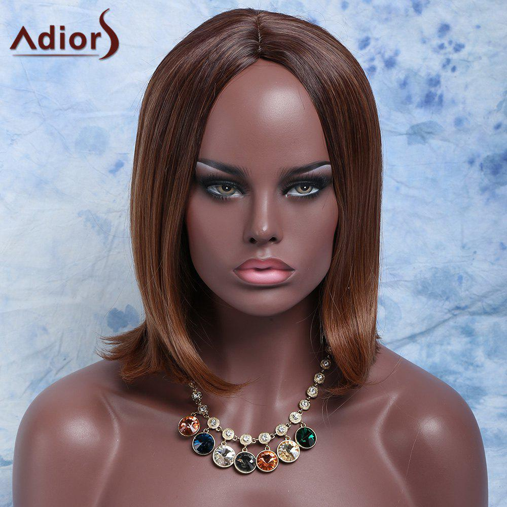 Outfits Vogue Synthetic Short Straight Centre Parting Mixed Color Wig For Women