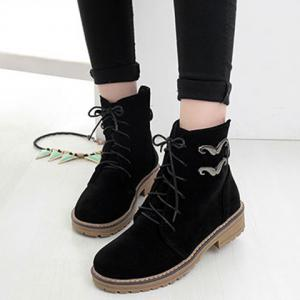 Suede Ankle Boots -