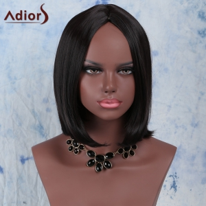 Adiors Hair Short Synthetic Centre Parting Straight Wig -