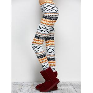High Stretchy Geometric Print Leggings