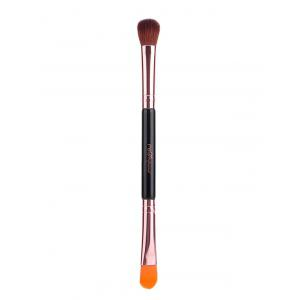 Fiber Double End Eyeshadow Brush Concealer Brush - Rose Gold