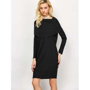 Long Sleeve Knee Length Dress