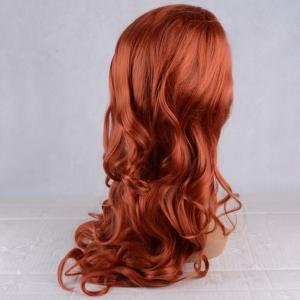 Long Fluffy Wavy Lace Front Synthetic Wig -