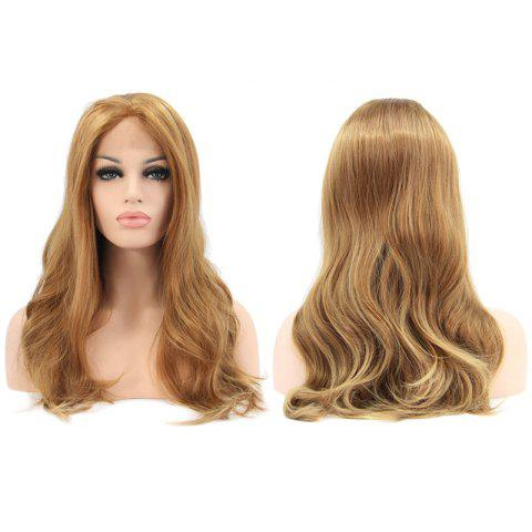 Buy Faddish Long Wavy Lace Front Synthetic Wig