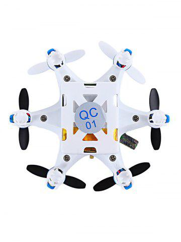 Best FY805 2.4GHZ 4 Channel 6 Axis Gyro LED Light Mini Hexacopter -   Mobile