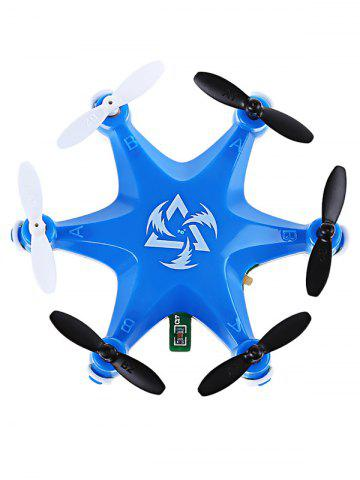 Unique FY805 2.4GHZ 4 Channel 6 Axis Gyro LED Light Mini Hexacopter -   Mobile