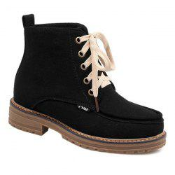 Vintage Suede Ankle Boots -