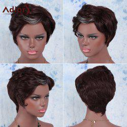 Adiors Hair Short Straight Highlights Synthetic Wig