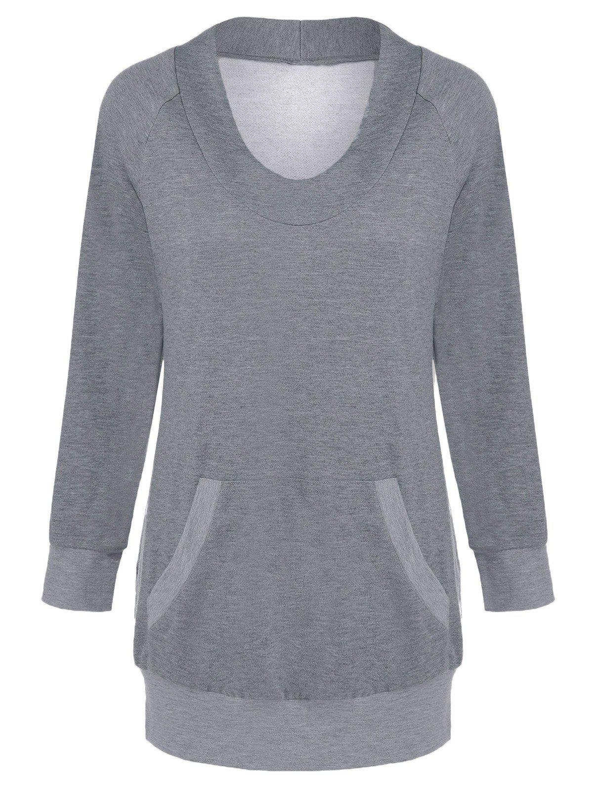 Image of Long Sleeve Tee With Pocket