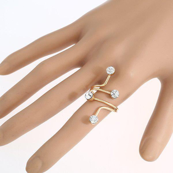 Layered Spiral Ring from RoseGal