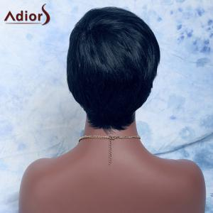 Adiors Hair Mixed Color Short Straight Synthetic Wig - COLORMIX