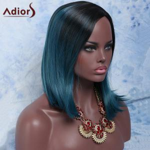 Adiors Hair Medium Side Parting Colormix Straight Synthetic Wig - COLORMIX