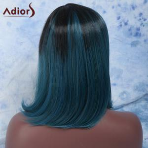 Adiors Hair Medium Side Parting Colormix Straight Synthetic Wig -