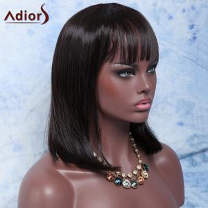 Adiors Hair Medium Neat Bang Straight Synthetic Wig -