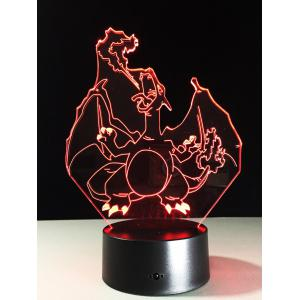 LED 3D Visual Color Changing Home Decor Touch Night Light