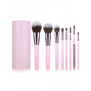 8 pcs Makeup Brushes Kit + Brush Egg + Makeup Sponge -