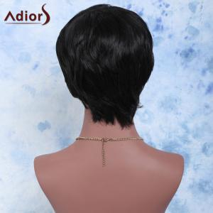 Endearing Short Straight Capless Synthetic Wig -