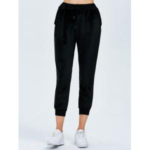 Active Drawstring Capri Sweatpants