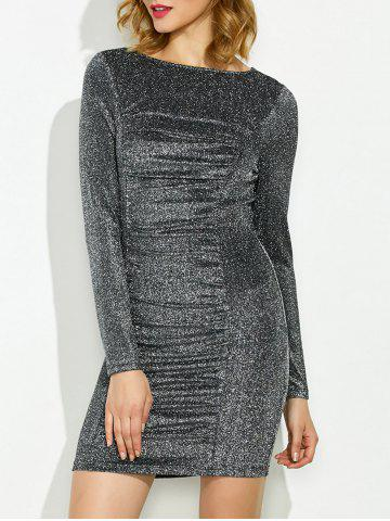Latest Long Sleeve Lurex Dress