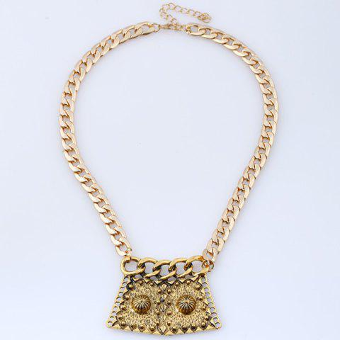 Outfits Alloy Vintage Pendant Necklace
