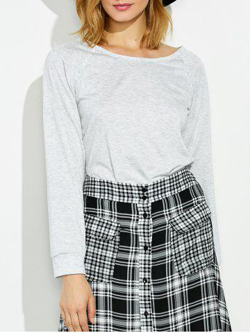 Outfit Side Slit Criss Cross Tee