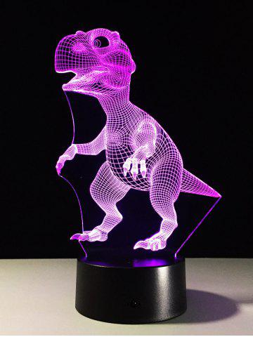 Shops Best Gift 7 Color Changing LED Dinosaur Touch 3D Night Light - COLORFUL  Mobile
