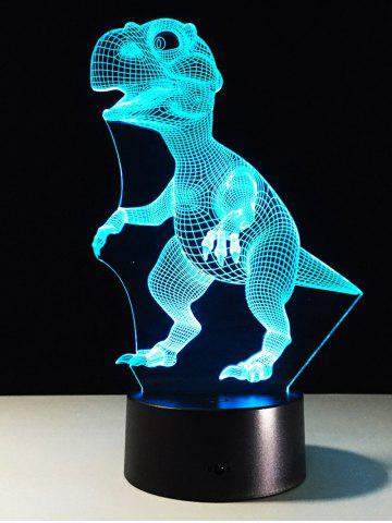 Sale Best Gift 7 Color Changing LED Dinosaur Touch 3D Night Light - COLORFUL  Mobile