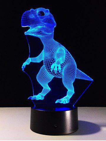Chic Best Gift 7 Color Changing LED Dinosaur Touch 3D Night Light - COLORFUL  Mobile