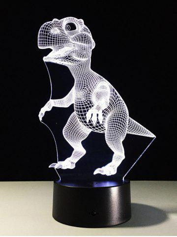 Best Best Gift 7 Color Changing LED Dinosaur Touch 3D Night Light - COLORFUL  Mobile