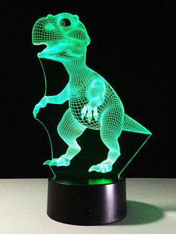 Latest Best Gift 7 Color Changing LED Dinosaur Touch 3D Night Light - COLORFUL  Mobile