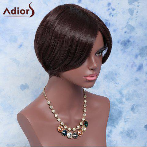Store Towheaded Skilful Short Side Bang Straight Synthetic Wig