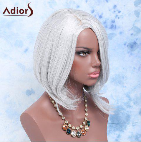 Unique Medium Side Parting Straight Ombre Synthetic Wig