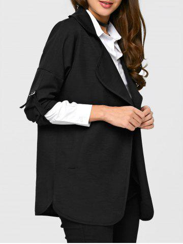 Sale Notch Lapel Trench Coat