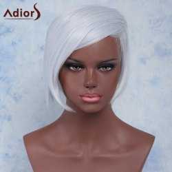 Straight Short Side Parting High Temperature Fiber Wig