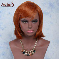 Stylish Side Bang High Temperature Fiber Women's Wig