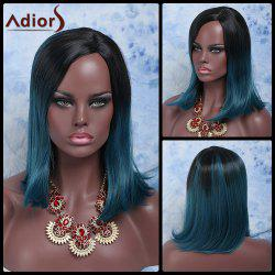 Adiors Hair Medium Side Parting Colormix Straight Synthetic Wig