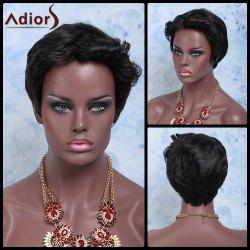 Adiors Hair Short Boy Cut Curly Synthetic Wig -