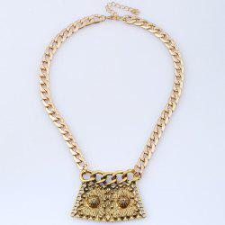 Alloy Vintage Pendant Necklace -