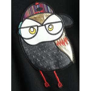 Plus Size Owl Graphic Sweatshirt -