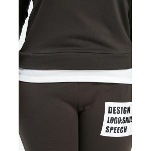 Plus Size Pockets Design Funny Outfits -