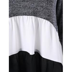 Color Block Tiered T-Shirt -