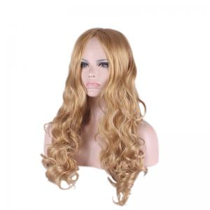 Long Centre Parting Wavy Cosplay Synthetic Wig -