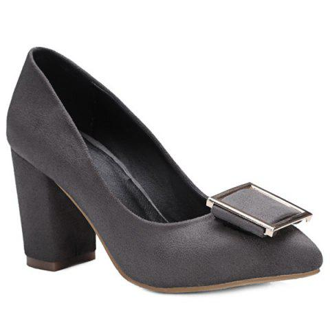 New Pointed Toe Suede Pumps
