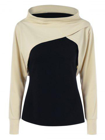 Discount Two Tone Sweatshirt COLORMIX M