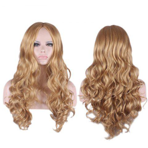 Shop Long Centre Parting Wavy Cosplay Synthetic Wig