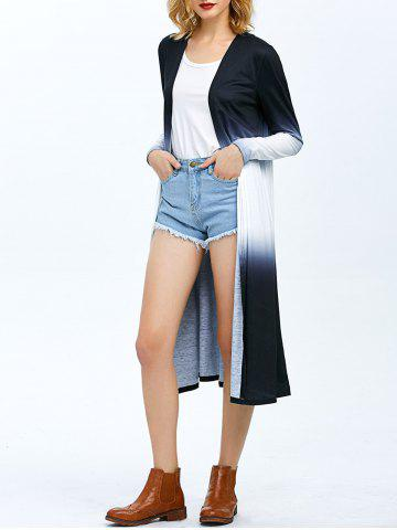 Store Two Tone Longline Cardigan