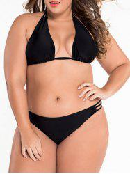 Low Cut Plus Size Bikini Bathing Suit