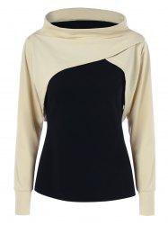 Two Tone Sweatshirt - COLORMIX M