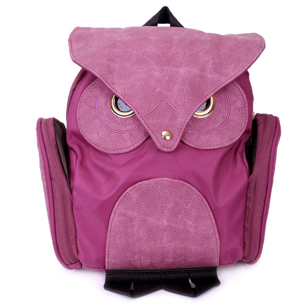Best Stylish Owl Shape Solid Color Design Women Shoulder Satchel