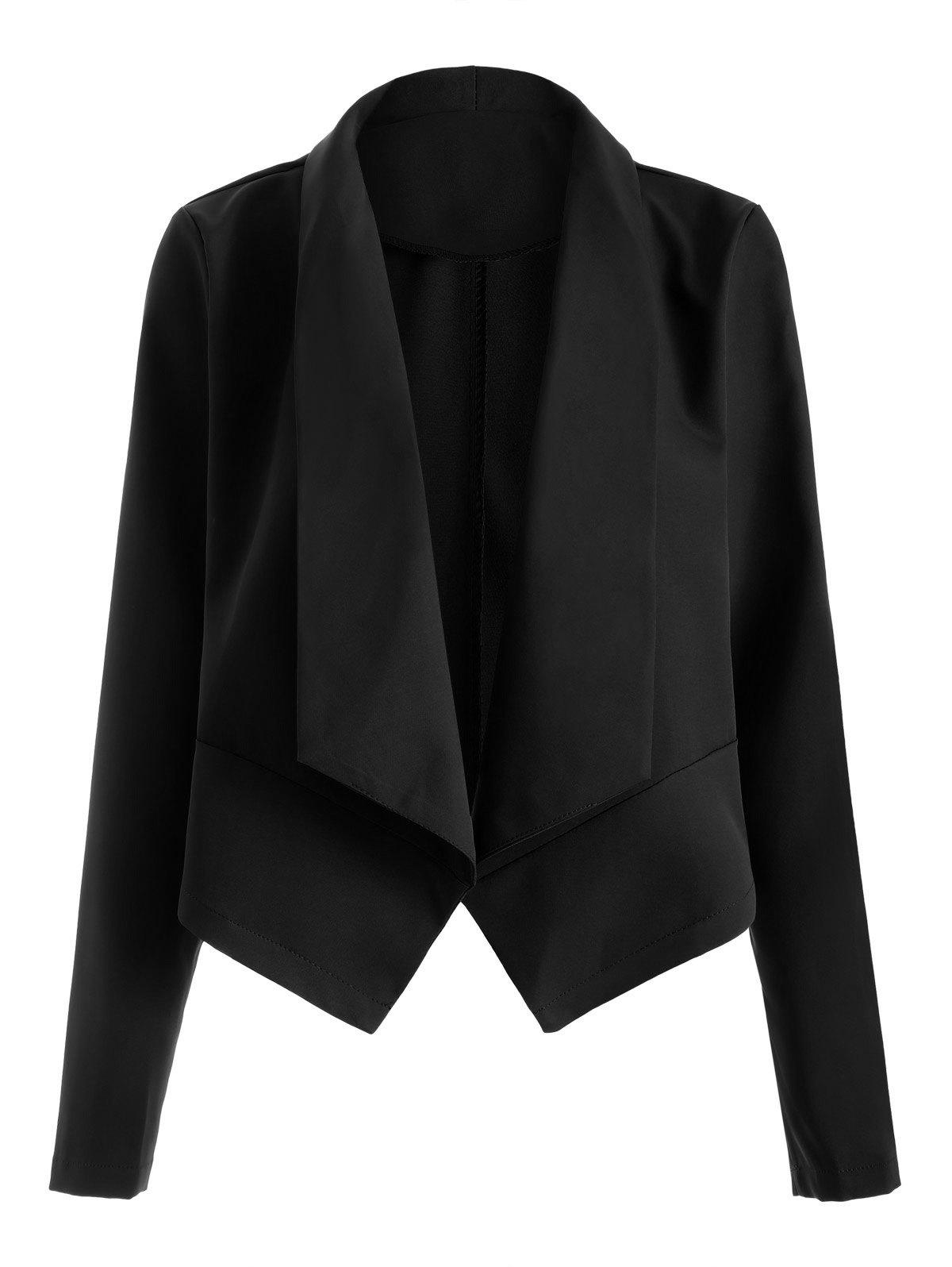 Outfit Open Front Shawl Collar Blazer